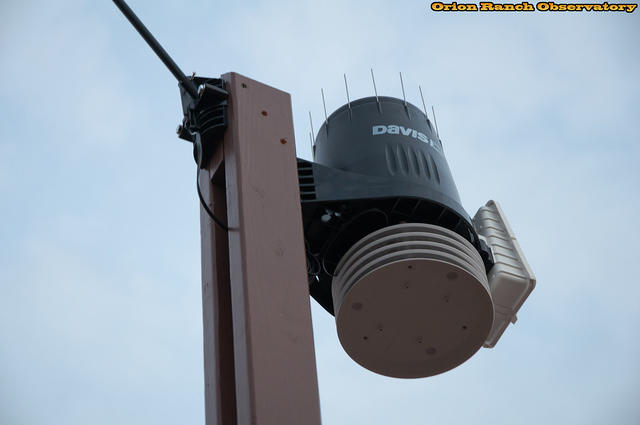 Installed Weather Station