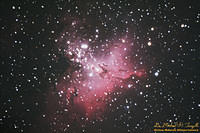 M16 - The Eagle Nebula - 100716