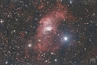 NGC 7635 - The Bubble Nebula - 171016