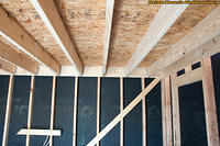 Warm Room Roof Sheathing