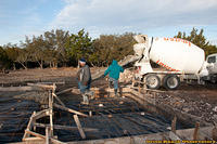 Day 4 - First Concrete Truck Pour