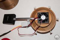 Fan and Cable Mounting