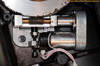 Re-greased Worm Gear