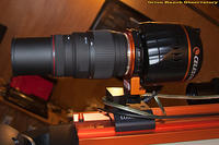 Camera and Lens Mounted @ 300 mm