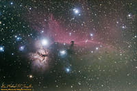 IC 434, Barnard 33, NGC 2024 - The Horsehead and Flame Nebulae - 101203