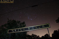 Orion over Orion Ranch All Stars